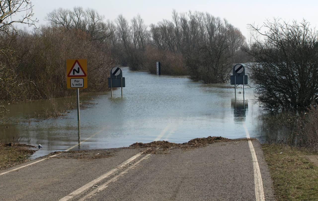 Fens flooding