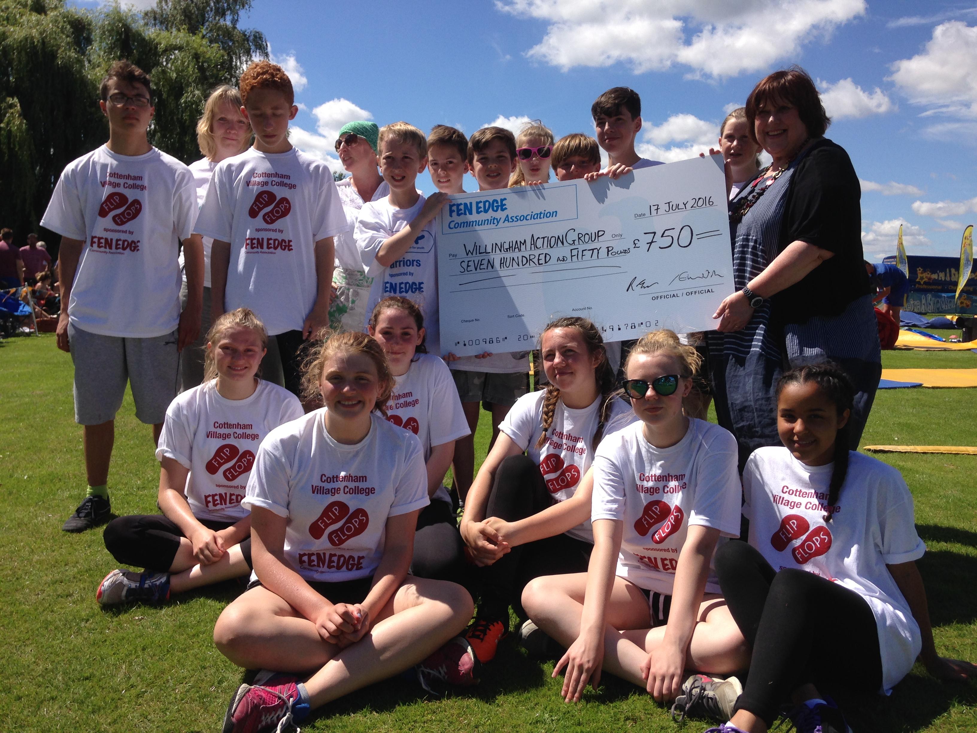 Willingham QEII Playground fundraising