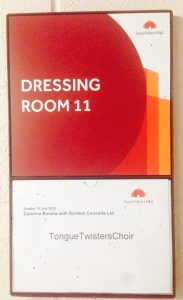 Tongue Twisters sing at the Royal Albert Hall