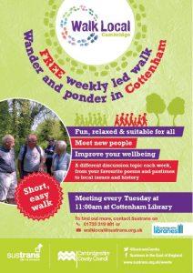 Walk around Cottenham poster