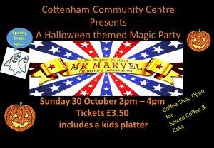 Cottenham Community Centre Halloween Magic Party