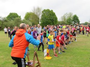 Cottenham Fun Run 2017 - The Start