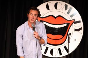 Paddy Lennox Custard Comedy at the Fen Edge Festival
