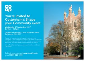 Cottenham Shape your Community Event