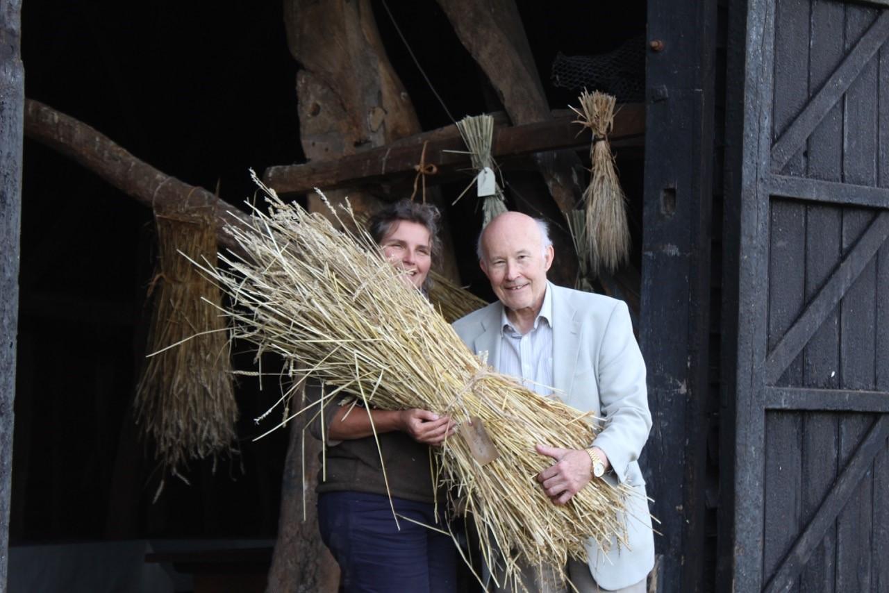 Landbeach Tithe Barn Trust Sponsor a sheaf campaign
