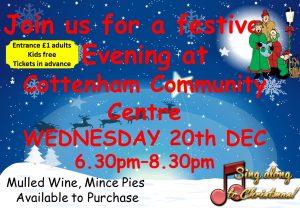 Festive Evening at Cottenham Community Centre