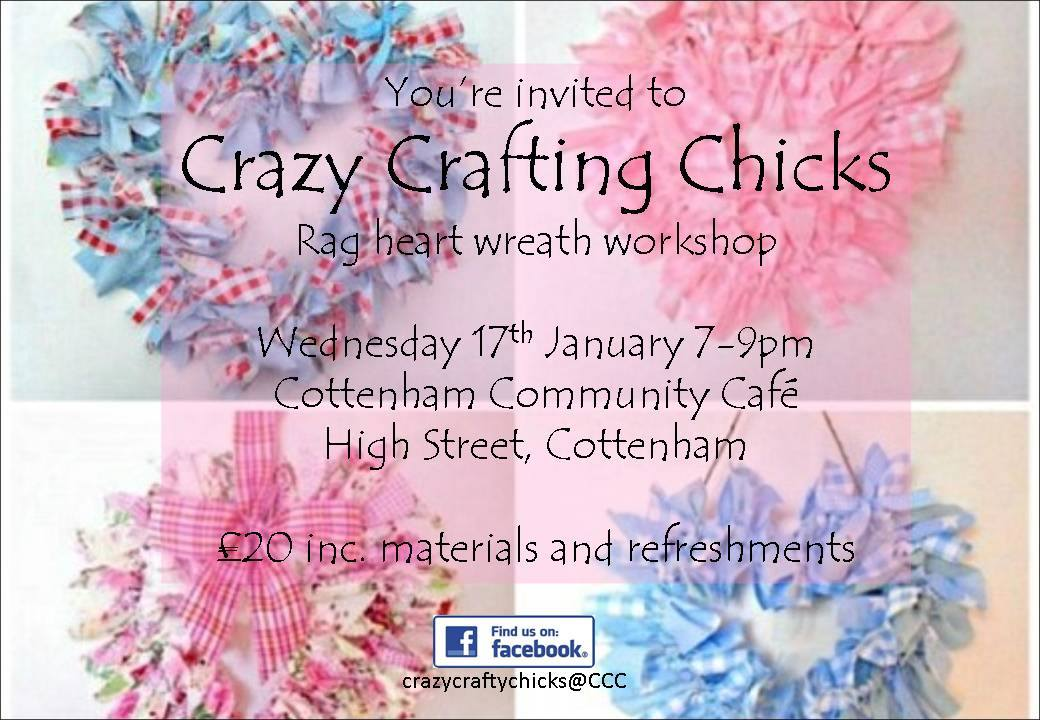 Cottenham Community Centre Craft Workshop