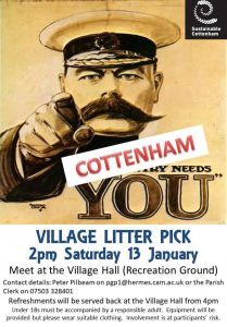 Cottenham Village Litter Pick