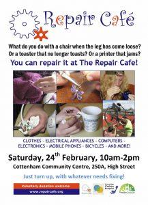 Cottenham Community Centre Repair Cafe