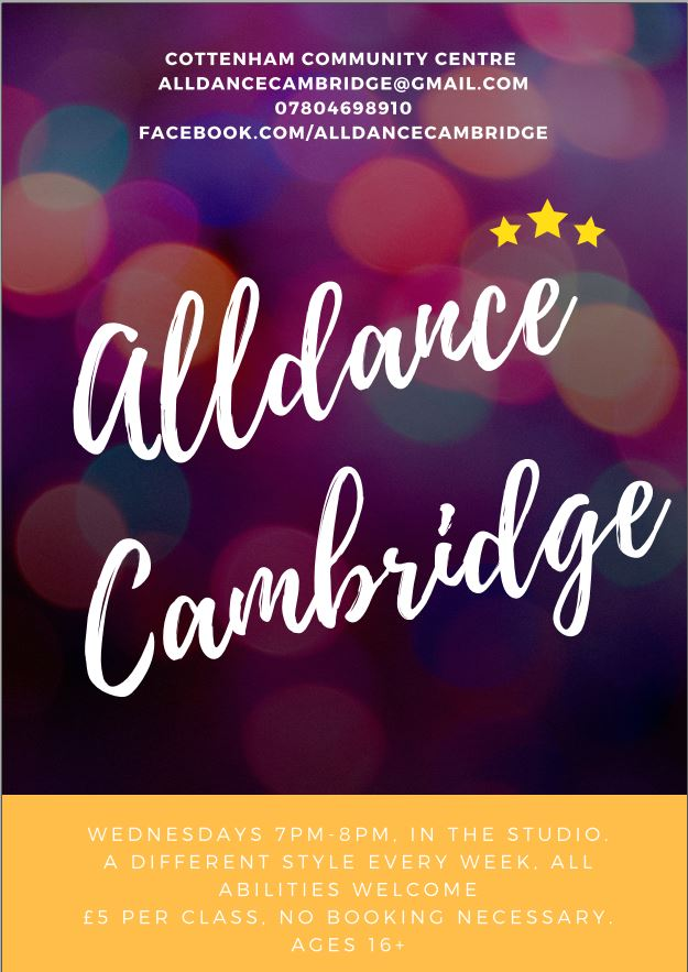 Cottenham Community Centre - All Dance