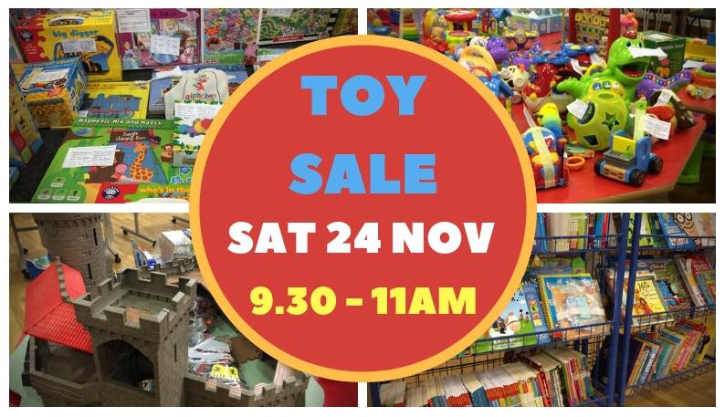 Cottenham Toy Library Toy Sale