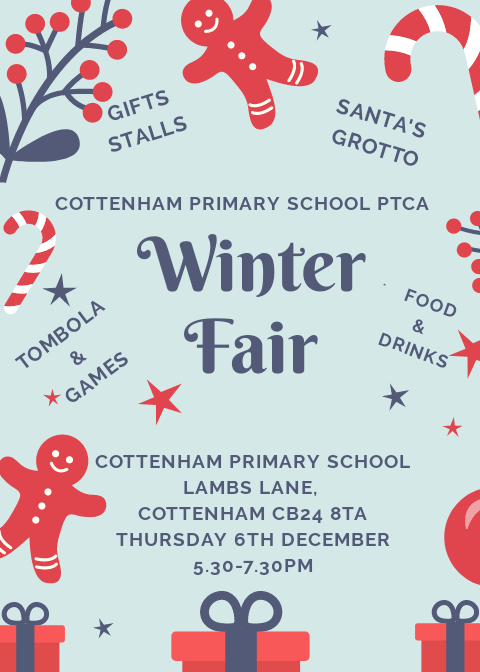 Cottenham Primary School PTCA Winter Fair