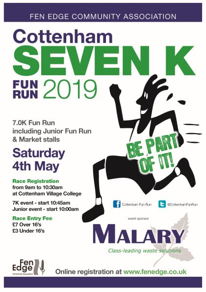 Cottenham Fun Run 2019