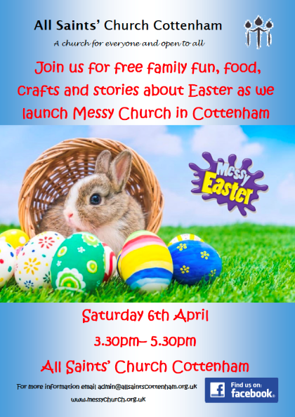Messy Church All Saints' Cottenham