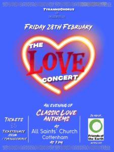 The Love Concert - Cottenham - 28 February 2020