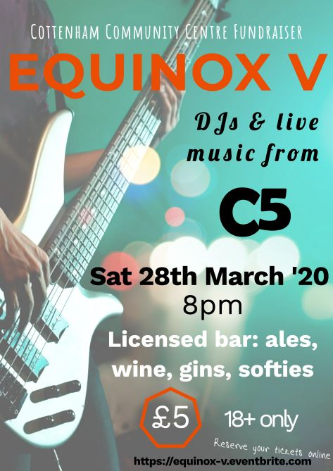 Equinox V Cottenham Community Centre