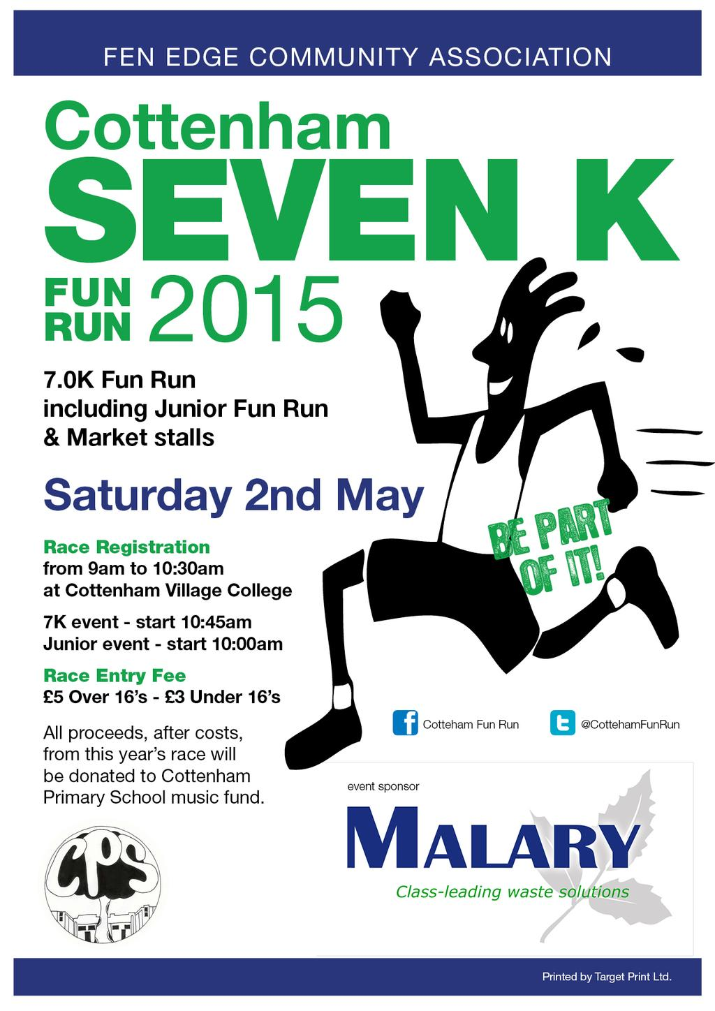 Cottenham Fun Run 2015