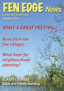 Fen Edge News Autumn 2015
