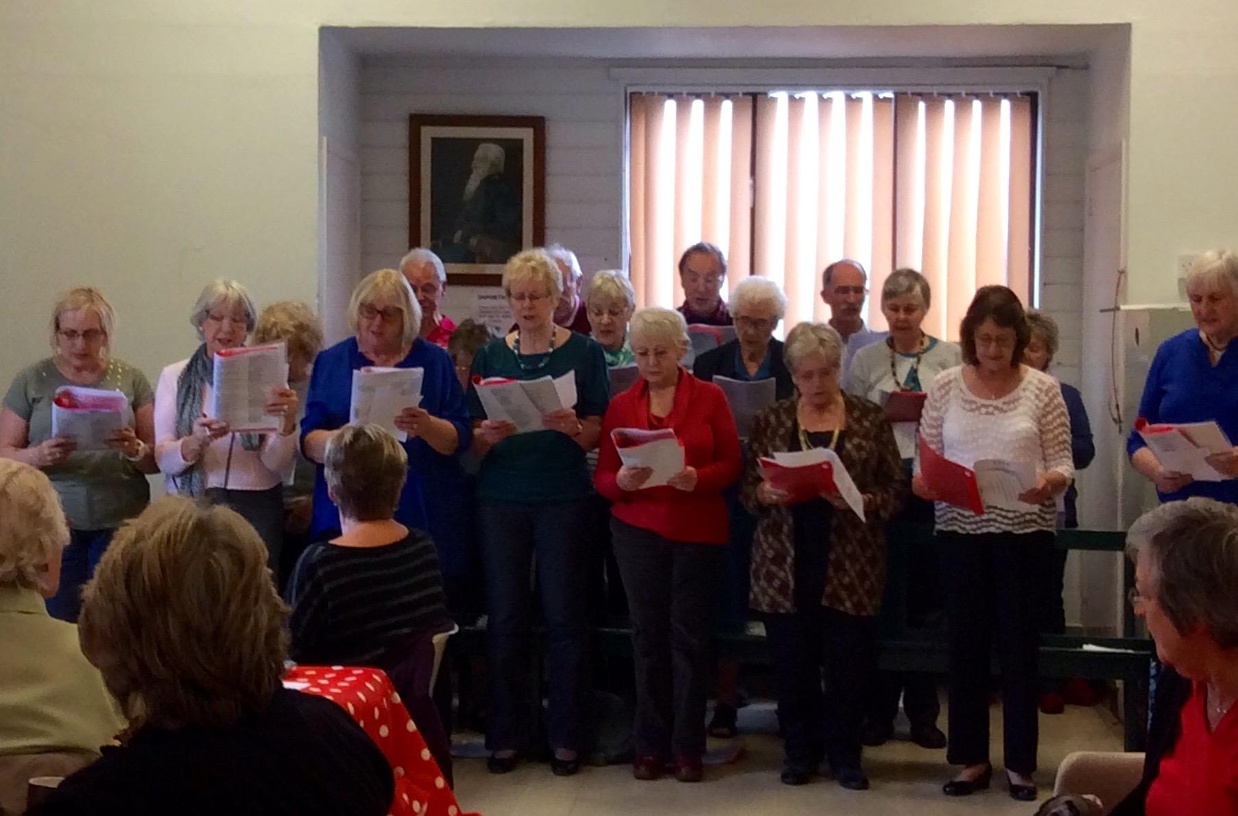 Singing in Cottenham and Landbeach