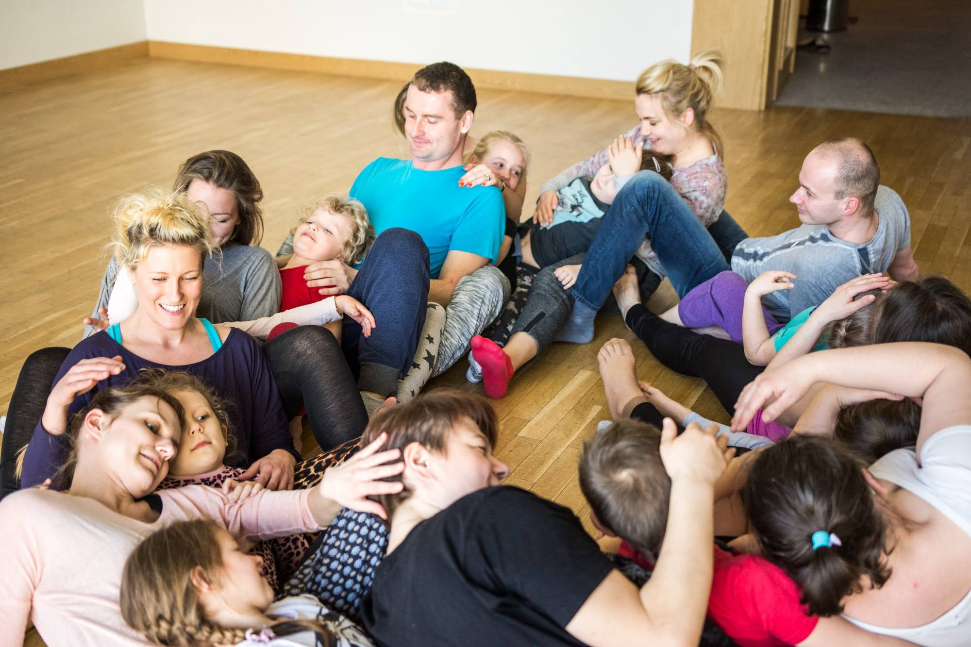 Dance and Movement class at Cottenham Community Centre