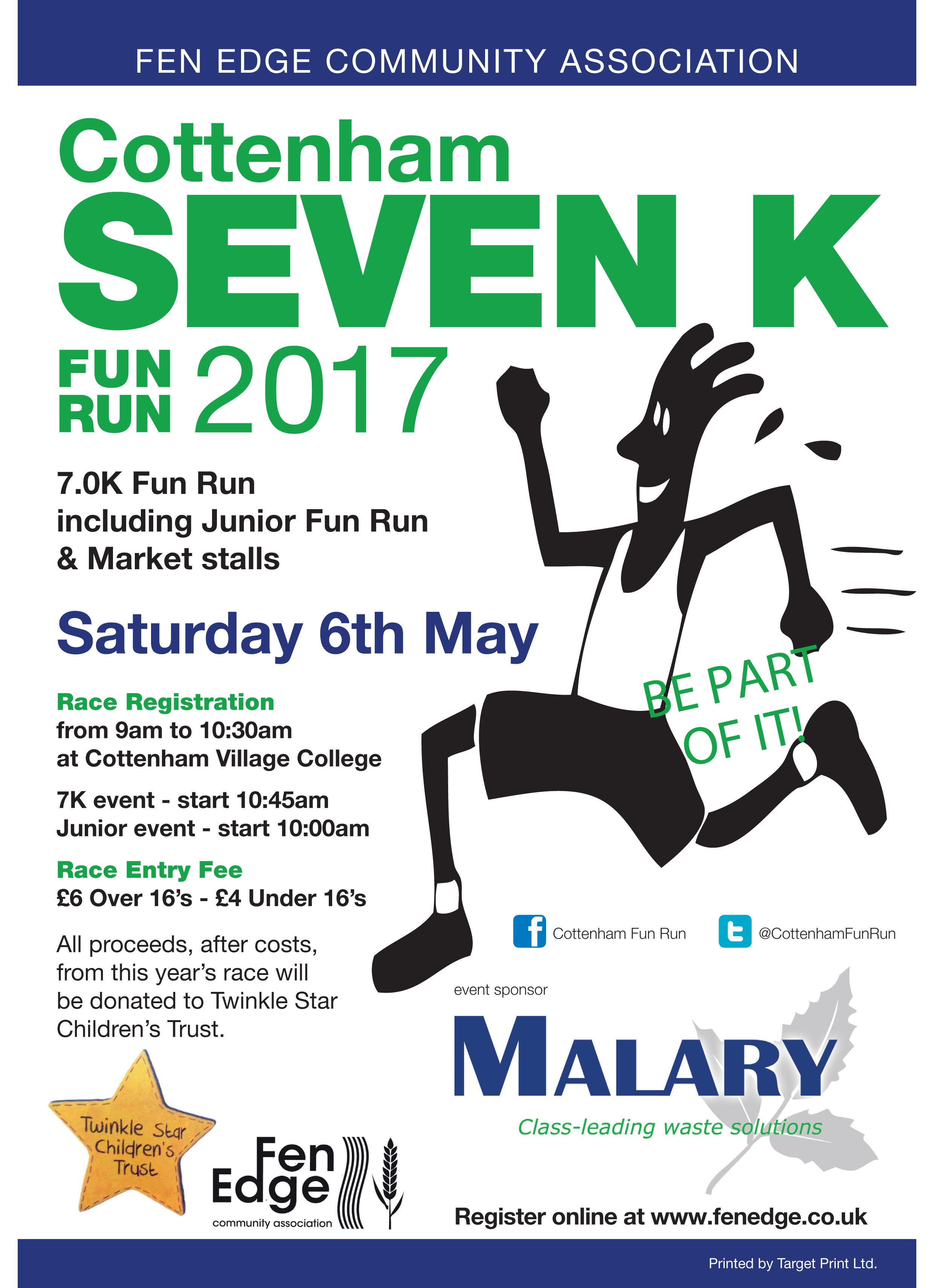 Cottenham Fun Run 2017