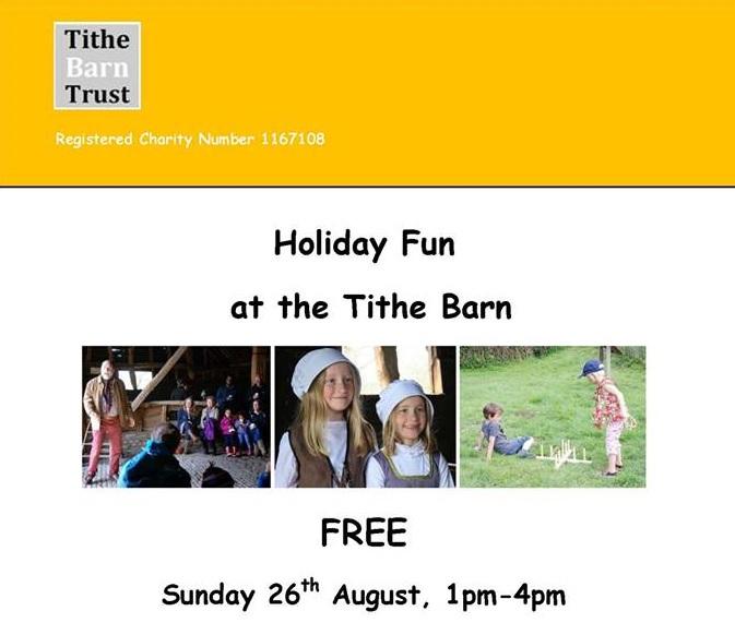 Landbeach Tithe Barn Holiday Fun