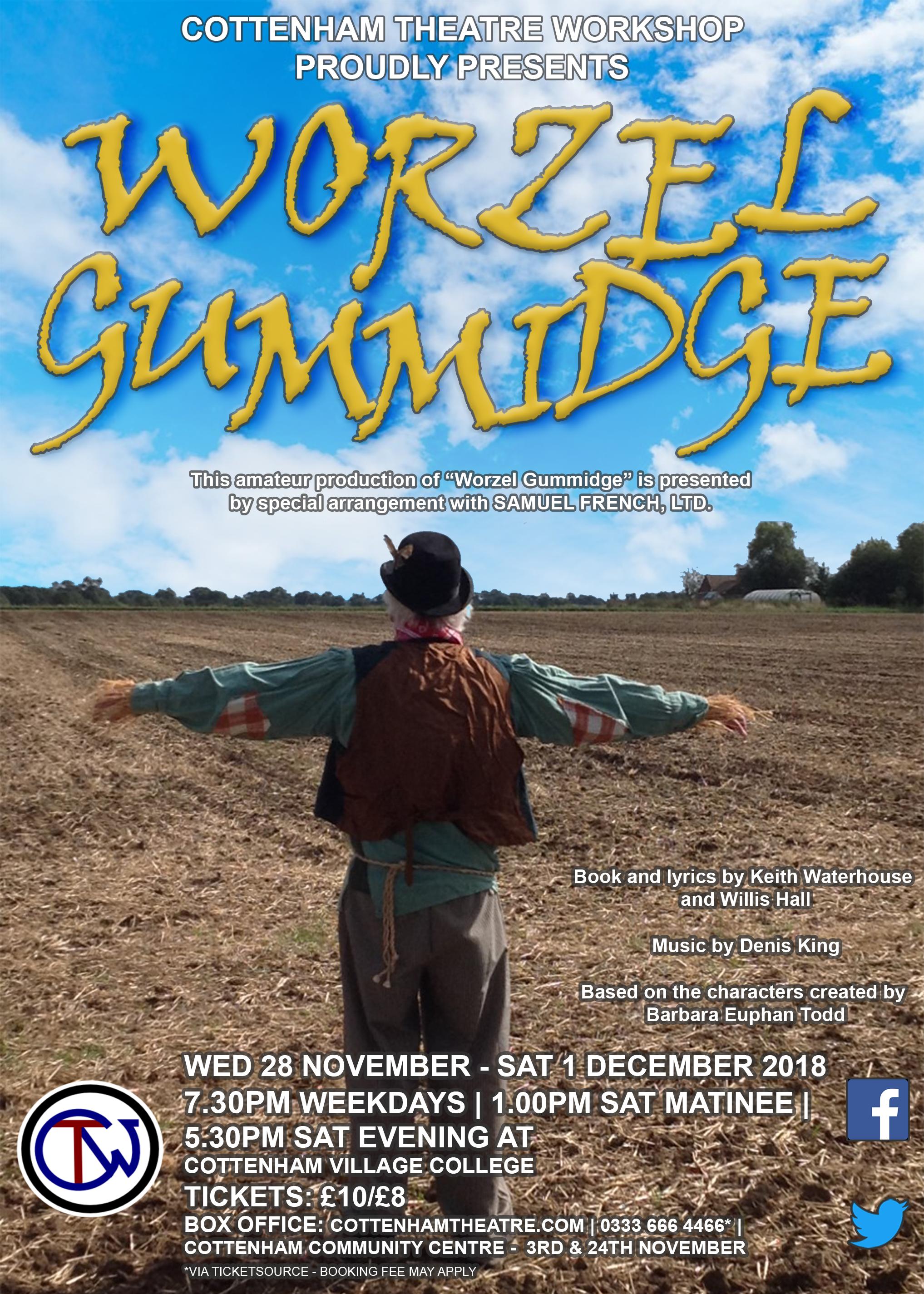 Worzel Gummidge Cottenham Theatre Workshop