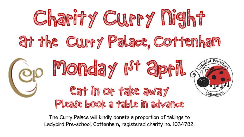 Ladybird Pre-School Curry Night