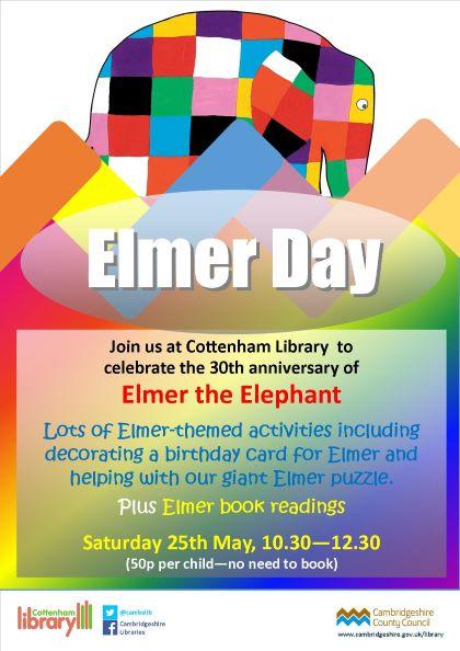 Cottenham Library Elmer Day