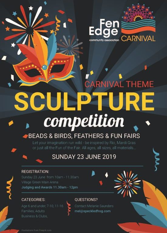 Fen Edge Festival 2019 Sculpture Competition