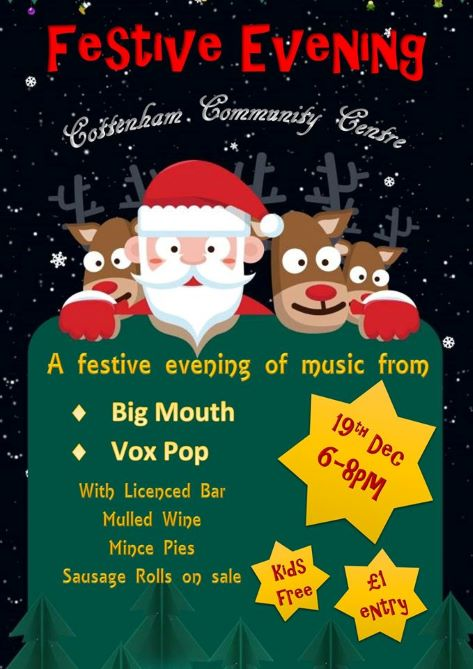 Festive Evening Cottenham Community Centre