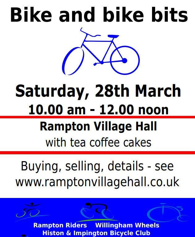 Bike and Bike Bits Sale Rampton